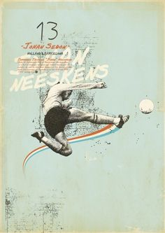 Sucker for Soccer on the Behance Network #print #design #graphic