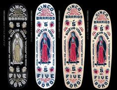 CINCO BARRIOS #skateboard #5boro #pray