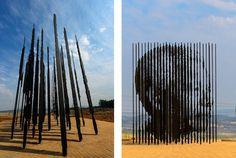 Designersgotoheaven.com Nelson Mandela monument in Howick, byMarco Cianfanelli. #nelson #mandela #scultpure