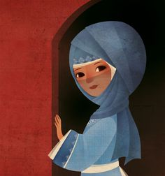 Gaia Bordicchia, Image from Tartarin #illustration #color #foreign #hood