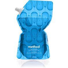 Method_dieline #packaging #pouch