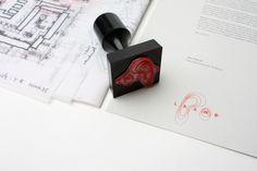 Laand on Behance #stamp #branding #landscape #identity #architecture #passport #logo