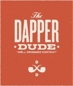 The Dapper Dude #logo