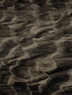 Sylt Island on the Behance Network #sand #pattern #oil