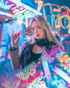 Moody Street Portrait Photography by Matthew Cheung