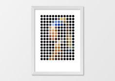 The Classics Remixed by Gary Andrew | via Hey Oscar Wilde #history #geometry #pattern #contemporary #illustration #art