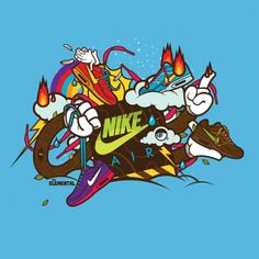 Nike Elemental on the Behance Network #j3 #illustrator #tshirt #concepts