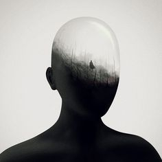 Mind's Eye Illustration Series by Gabriel Levesque