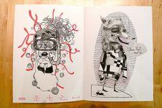 Anoik #fanzines #books #anoik #arturescarlate #illustration #heymikel