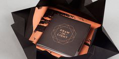 Draw In Light The Dieline #fold #design #book #out #structures
