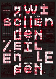 The New Graphic — #type #poster