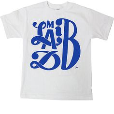 Rappcats » Madlib by Parra (White / Blue) #lettering #stonesthrow #t-shirt #madlib #parra