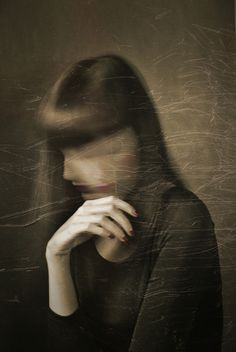 Francesca Ciavarella #photo #face #blur #mystery