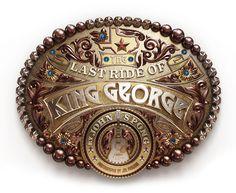 George Strait #strait #kidd #george #progression #texas #digital #illustration #kendrick #monthly #3d