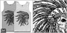 Native T shirt design by vinbasshred Mintees #indian