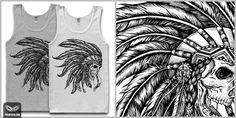 Native T shirt design by vinbasshred Mintees