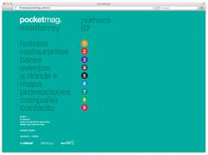 Pocketmag. on Behance