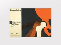 Display | Butazolidina 7 Geigy | Collection #cover #design #graphic #book