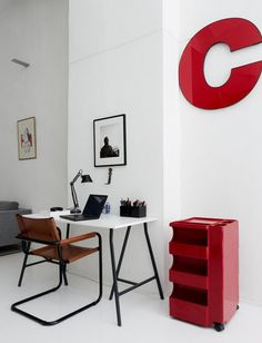 mi casa es su casa #interior #white #design #simple #desk