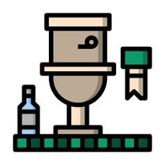 See more icon inspiration related to restroom, wc, furniture and household, sanitary, hygiene, toilet and bathroom on Flaticon.
