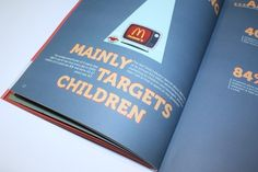 Fast food #illustration #advertising #book #kids