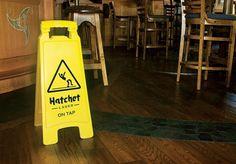 JenniferHicks.ca - Hatchet Lager #creative #hicks #advertising #jennifer #hatchet #lager