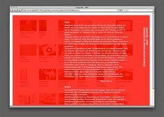 ECPRSN / ELLIOTT / 21 / LVRPL / LDN #typografik #red #web