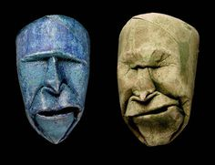 Futuristic Toilet Paper Roll Faces by Junior Fritz Jacquet
