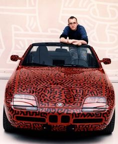 Keith Haring   Art   1990   Painting #bmw #keith #harring