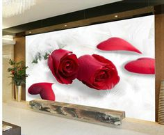 #beautiful #rose #red #love #3dwalldecor and #wallpanel