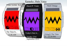 Karaoke Watch #tech #amazing #modern #innovation #design #futuristic #gadget #ideas #craft #illustration #industrial #concept #art #cool
