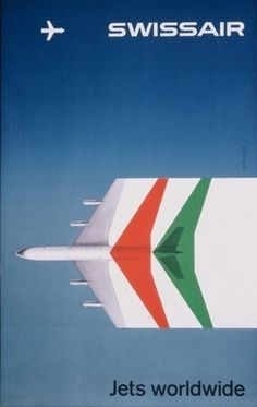 FFFFOUND! | WANKEN - The blog of Shelby White » SwissAir Posters #wanken #swissair