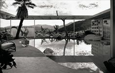 All sizes | Albert Frey, Loewy House, Palm Springs, photographed by Julius Shulman | Flickr - Photo Sharing! #loewy #springs #palm #albert #modern #frey #shulman #architecture #desert