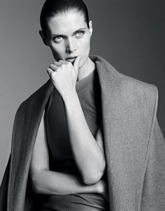 Malgosia Bela by Karim Sadli for The Gentlewoman #fashion #model #photography #girl