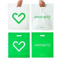 BVD: Apotek Hjärtat — Collate #branding #swedish #bvd #pharmacy