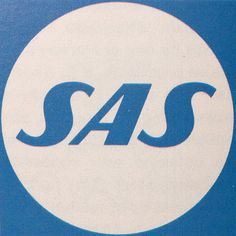 Scandinavian Airlines System (by oliver.tomas) #retro #sas #airline #logo #scandinavia