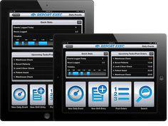 Report Exec UI Design - Zach Johnson Design