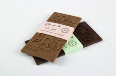 Typografische Schokolade #chocolate #package #typography
