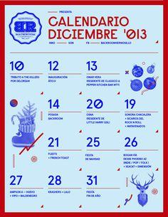 Calendario #flyer
