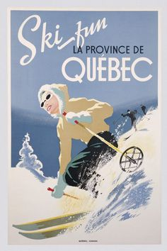 Old Canadian Posters Imgur #illustration #canadian #travel #poster