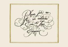 Various Work Jon Contino, Alphastructaesthetitologist #draw #hand #formal #wedding #typography