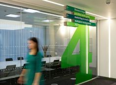 Kings Place offices wayfinding & signage | Cartlidge Levene #cartlidge #levene #guardian