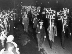 we_want_beer.jpg (658×497) #sign #beer #vintage #prohibition