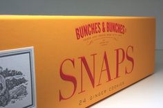 Bunches & Bunches Snaps Packaging