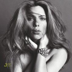 Scarlett Johansson par Inez & Vinoodh pour V magazine | Voyons Voir - J'aime le frivole #scarlett #johansson #photography #portrait #studio