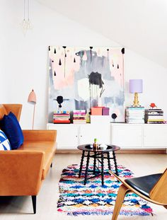 color me happy / sfgirlbybay #interior #design #decor #deco #decoration