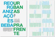 artistas-bebaprafrente.jpg (1042×703) #modern #grid #poster #typography