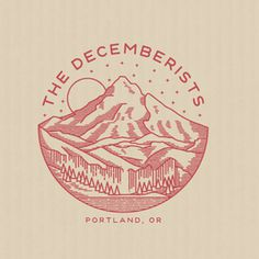The Decemberists Logo Work By Brian Steely