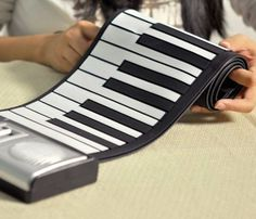 Roll Up Electronic Piano #piano