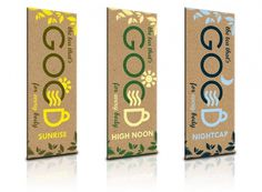 Concept Packaging: GoodTea - The Dieline: The World's #1 Package Design Website -